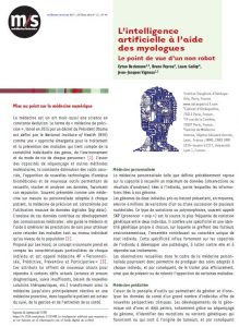 Publication scientifique de vos ostéopathes Paris 13
